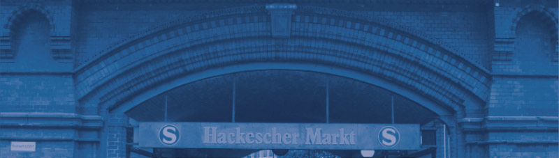 Bild vom S-Bahnhof Hackescher Markt